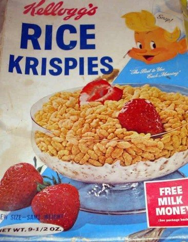 Did The Rolling Stones Eat Rice Krispies?