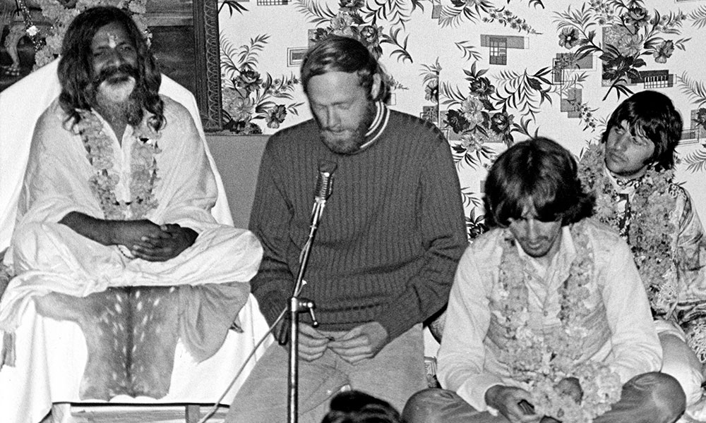 Maharishi photo by Cummings Archives and Redferns
