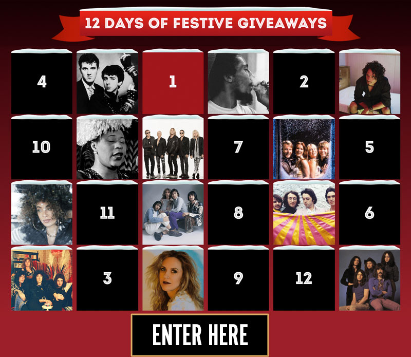 12 Days of Festive Giveaways