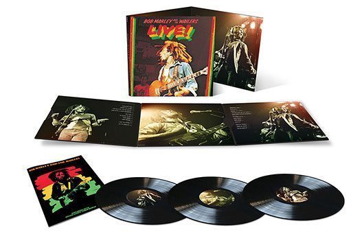Bob Marley Live 3LP Competition