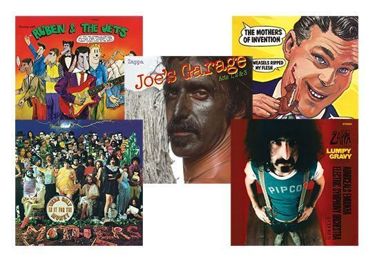 Frank Zappa vinyl competition