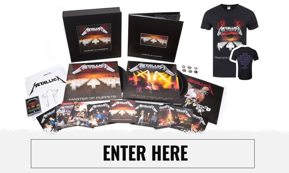 Metallica Giveaway