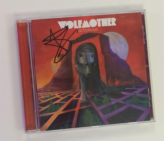 Wolfmother Signed CD Giveaway
