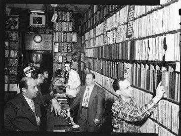Now this is what we call a record store!