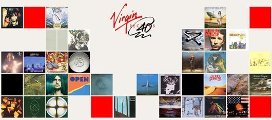 The Virgin Digital Find the 75 Bands Illusion