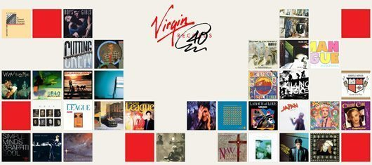 Virgin Records The Electric 80s
