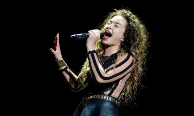 Ella Eyre photo by Neil Lupin and Redferns via Getty Images