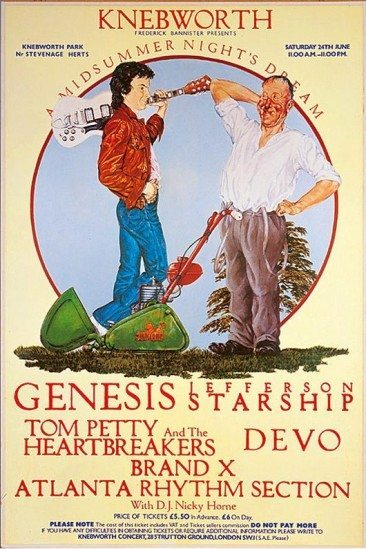Genesis and a spot of midsummer madness