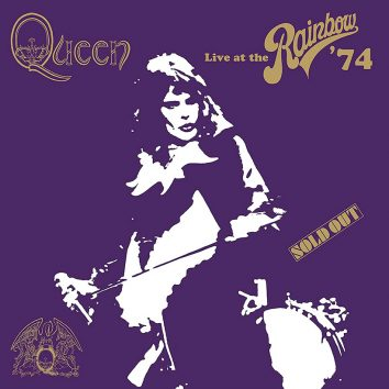 Queen Live At The Rainbow Artwork