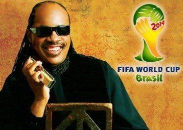 Stevie Wonder A World Cup Winner!