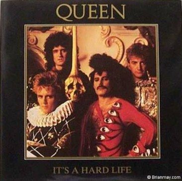 Queen's 25th UK Chart Single