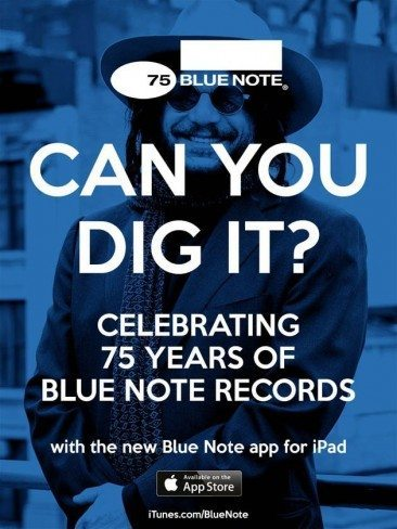New Blue Note 75 App
