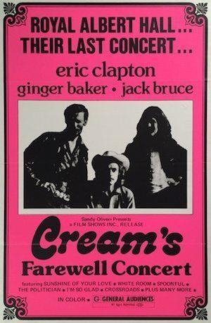 Cream poster
