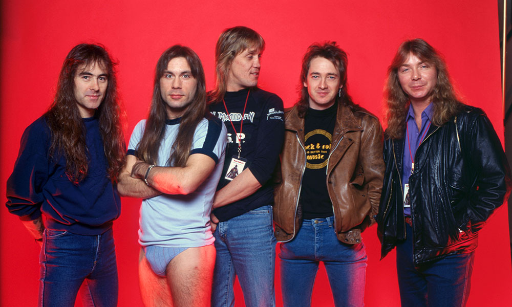 Iron Maiden photo by Ross Marino and Getty