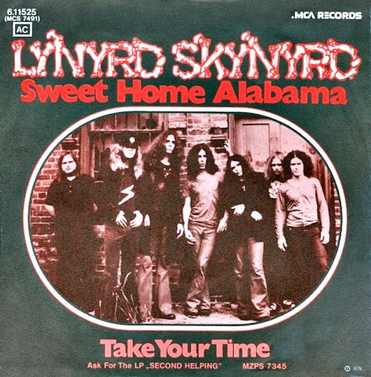 Where Was Sweet Home Alabama Made Song