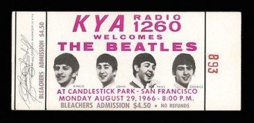 Beatles Film Seeks Candlestick Memories