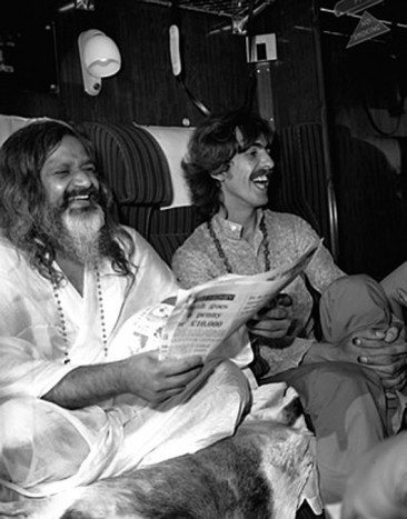 The Beatles Meet The Maharishi For The First Time