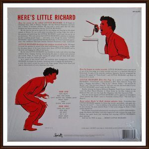 Here's Little Richard back cover
