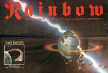 Rainbow On A Roll In '79 With 'Down To Earth'