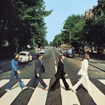 Four Beatles, One Zebra Crossing, London NW8