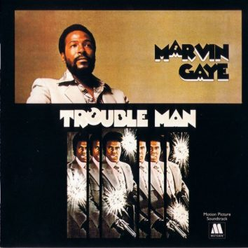 Marvin Gaye Trouble Man album cover