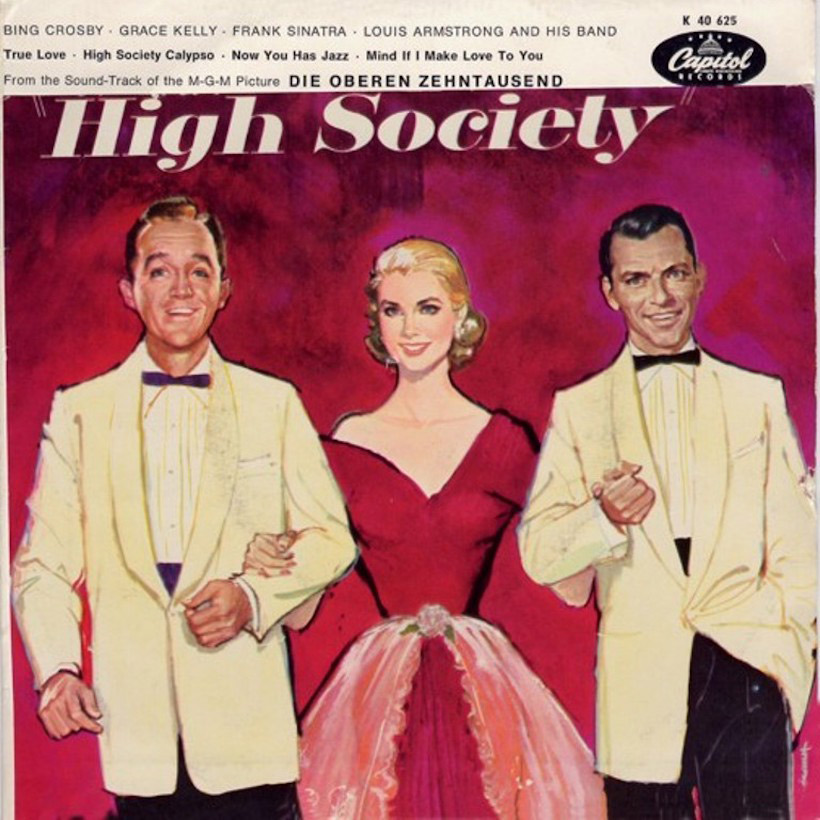 Louis Armstrong Steps Out In 'High Society'