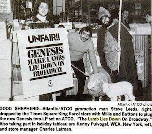 Billboard cutting Nov 74