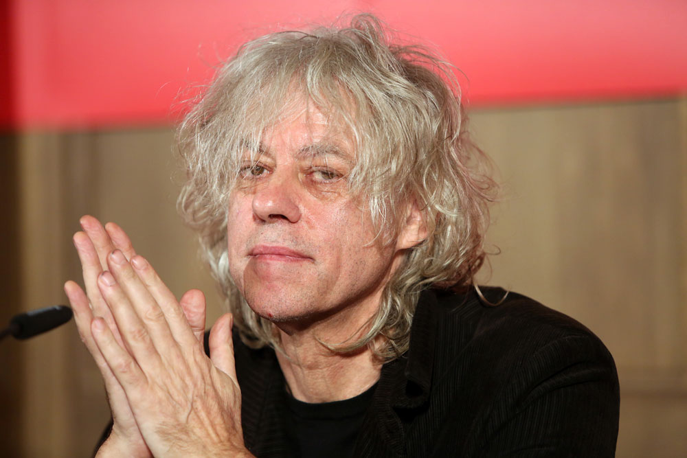 Bob Geldof photo by Adam Berry/Getty Images
