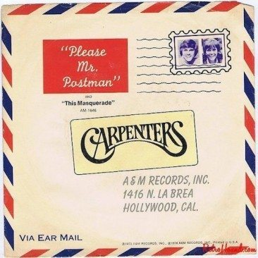 The Postman Rings Twice For The Carpenters