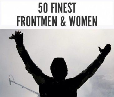 50 Finest Front Men and Women