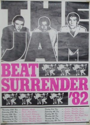 JAM BEAT SURRENDER 1982 UK TOUR