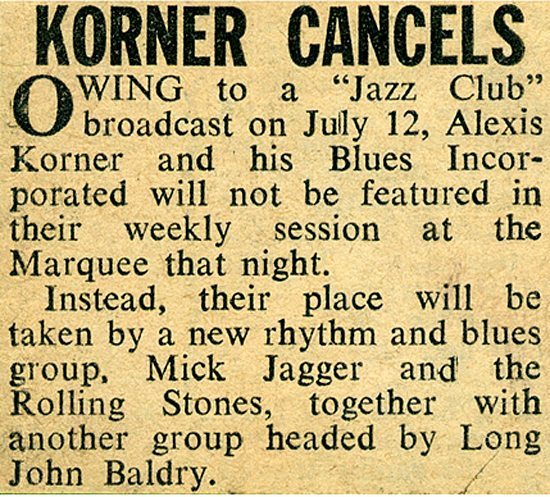 Korner cancels