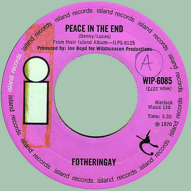 Peace in the end