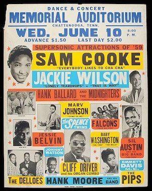 Sam Cooke poster