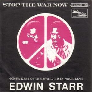 edwin starr stop the war now
