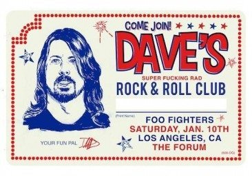 Dave Grohl's Birthday Bash…With A Few Close Personal Superstars