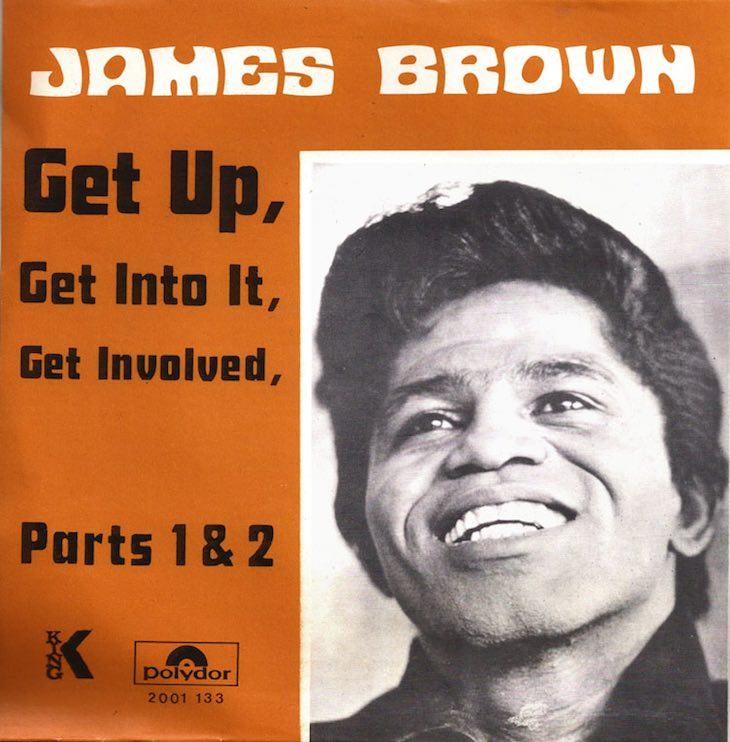 James Brown Gets Up And Gets Involved