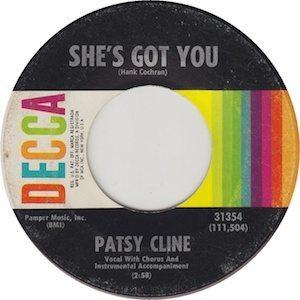 Patsy Cline She's Got You Decca