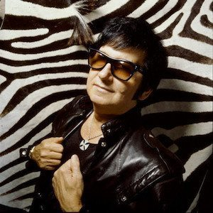 Roy Orbison with Zebra Skin