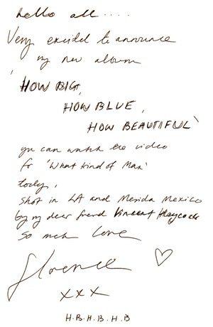 Florence letter