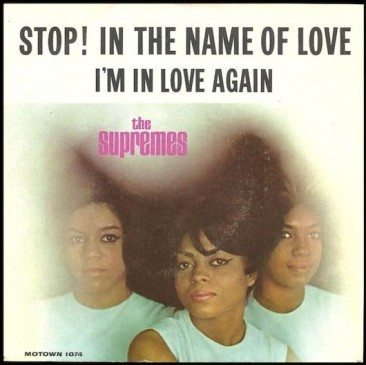 No Holding Back The Supreme' 'Stop! In The Name Of Love'