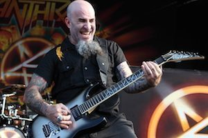 Anthrax  perform at the 2012 Rockstar Energy Drink Mayhem Festival at the Comcast Center in Mansfield, Mass. on August 3, 2012