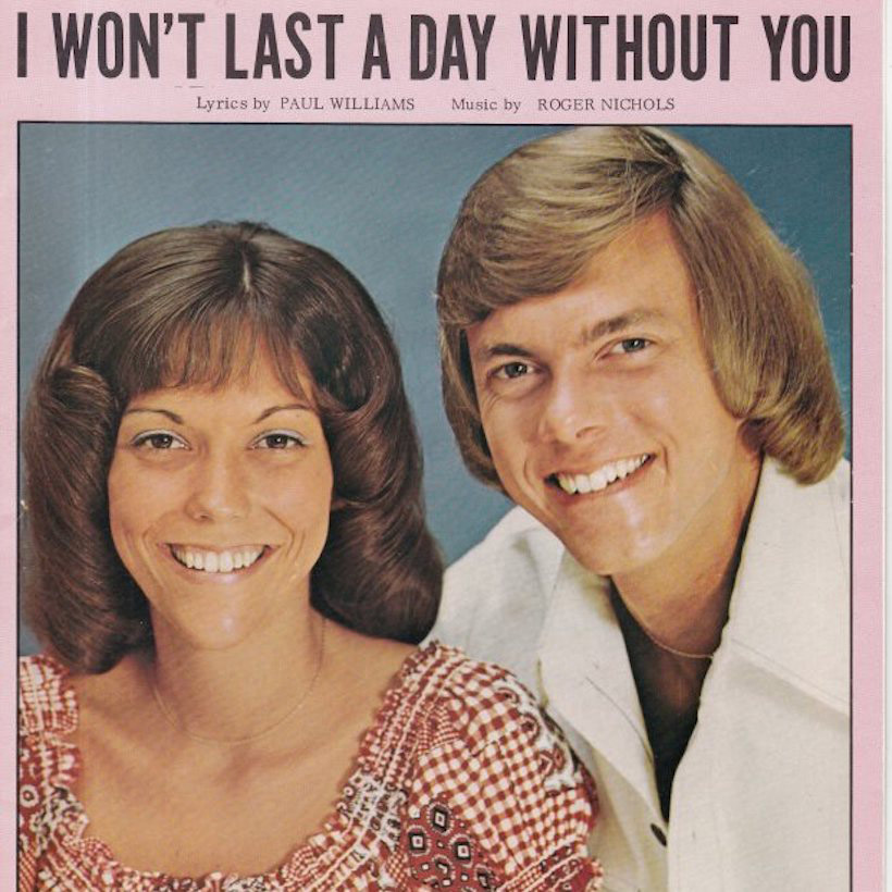 "The Carpenters Not-So ""Unlucky Hit"": 'I Won't Last A Day"