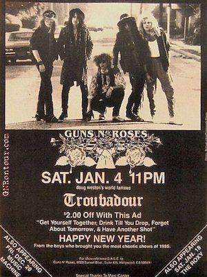 GNR poster