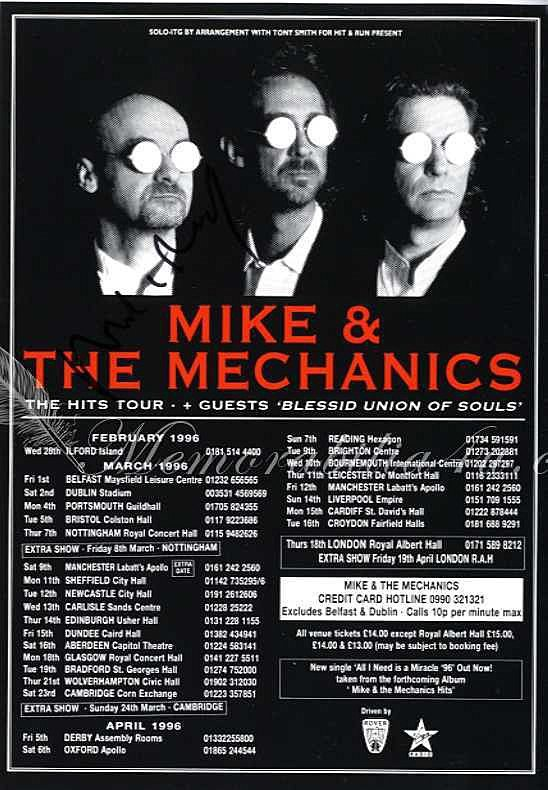 Mike And The Mechanics Album