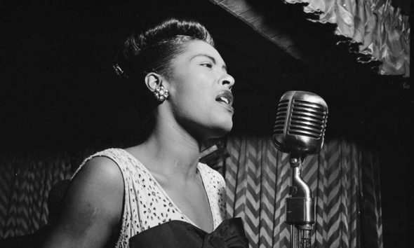 Billie Holiday, Downbeat, New York, N.Y., ca. Feb. 1947 web optimised 1000