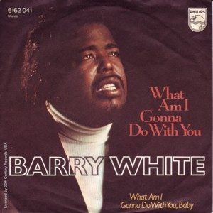 barry white what am i gonna do