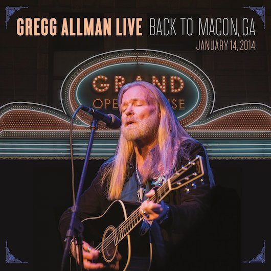 Gregg Allman Live DVD/CD Due In August