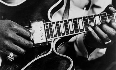 100 Greatest Blues Albums - A close-up of BB King's guitar