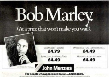 The 'Legend' Begins For Bob Marley & The Wailers